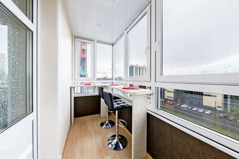Замена холодного остекления балкона на теплое