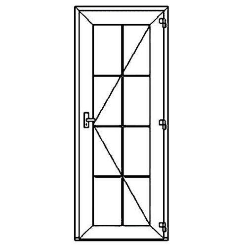 Окно с декоративными элементами