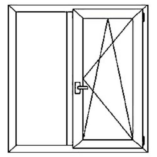 Окно 2х-створчатое