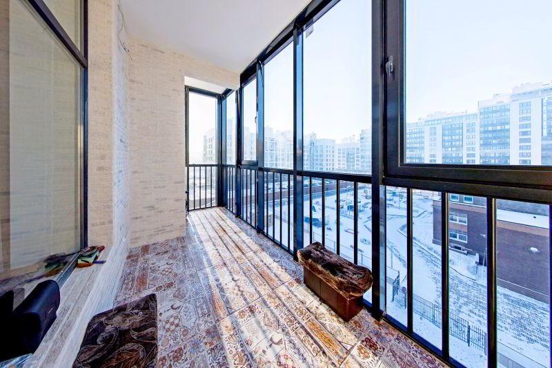 Холодное остекление балкона и лоджий
