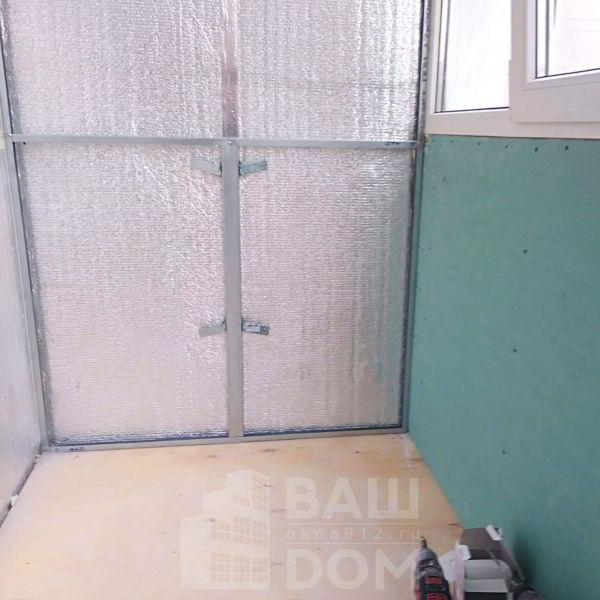 Подготовка каркаса для укладки на стены