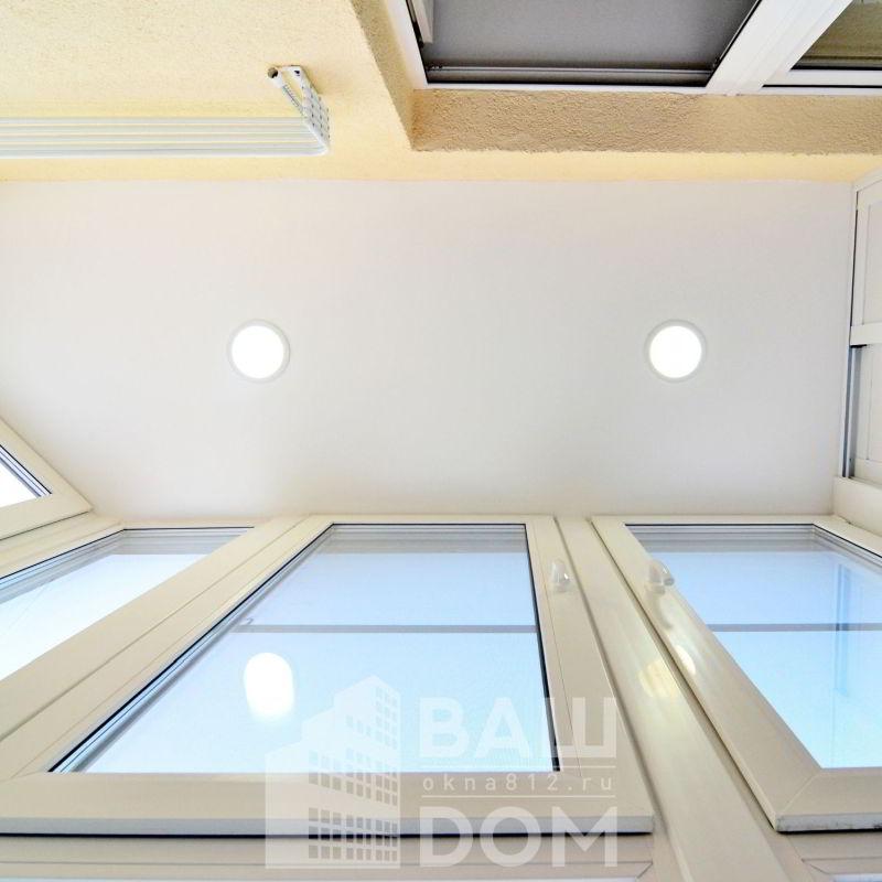 7. Монтаж потолка
